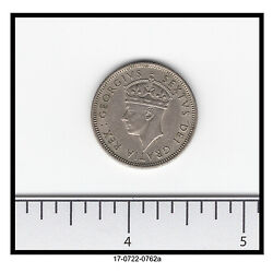 1949 Cyprus One Shilling Great Details