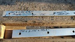 Set Of Wysong 12' Shear Blade Knife 3/4 X 2 X 145.6 Pair Of Sharpened Knives.
