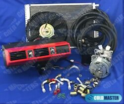 New A/c Kit Universal Underdash Evaporator 404 1red 12v And Electric Harness