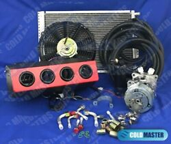 New A/c Kit Universal Underdash Evaporator404-red With Louvers And Elec. Harness