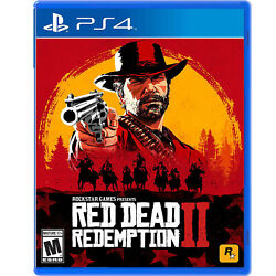 Red Dead Redemption 2 Ps4 [brand New]