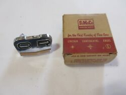 Nos 1959 Ford Custom 300 2 And 4 Door Trunk Lock Flap 59
