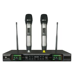 Professional Microphone True Diversity Wireless Vocal Microphone For Big Stage
