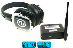 10 Cuffie Sx-809 Per Silent Disco Silent Yoga Silent Fitness Silent Party
