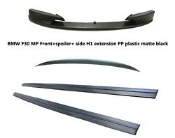 For 12-Up BMW F30 3-Series MP FRONT LIP+SPOILER+SIDE EXTENSION H1 PP Gray Color