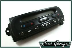 Dual Zone Climate / Heater Controls Switch Pad WH Statesman HSV Parts #1 Aces