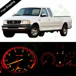 Red Instrument Cluster Speedometer Dashboard LED Light For 1999-2004 Ford F-150