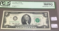 1976 2 - First Day Of Issue - Pcgs 58 Ppq - Not Canceled - Rare