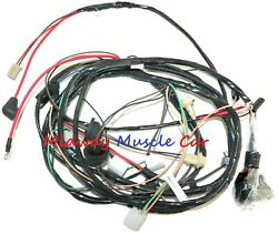 Front End Headlight Lamp Wiring Harness W/ Intenral Alternator 71 Chevy Chevelle