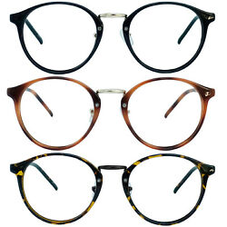 Retro Oval Round Reader Reading Glasses For Men and Women 1.00 4.00 $8.95
