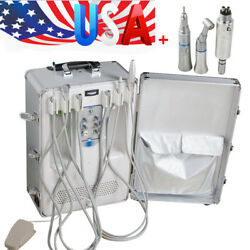 Dental Portable Delivery Unit Curing Light Ultrasonic Scaler Low Speed Handpiece