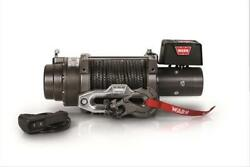 Warn M15-s 15000 Lb Winch 80and039 3/8 Spydra Synthetic Rope Heavy Series 97730