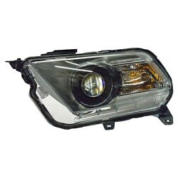NEW OEM 2010-2012 Ford Mustang LH Driver Side Xenon Headlamp w Bulb