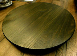 Wood Lazy Susan Farmhouse, Kitchen Dining Room Accessories, New, Brown Turntable