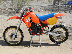 '86 Honda CR500R CR 500 OHLINS RACER Vintage MX MotoCross Running CORE for Resto