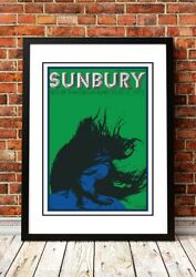 Sunbury Festival - Australian Rock Band Concert Tour Posters - 4 To Choose From.