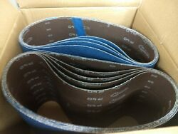 Blue Zirconia 8 X 29.5 40 Grit Sanding Belts - Hummel Bona And More Box Of 10