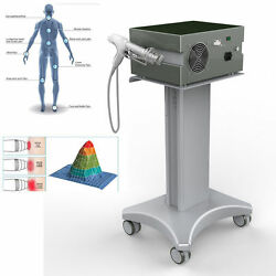 Pain Therapy System Ultrasonic Radio Shock Wave Pain Relief Massage Machine Spa