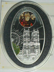 Niue 1 Dollar 2010 Gothic Westminster Abbey London Silver Mint.5000 №2