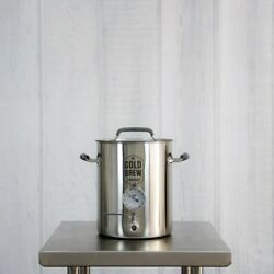 Stainless Steel Cold Brew Coffee System - 5.5 Gallon
