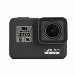 Gopro Hero7 Black Waterproof Sports Action Camera With Touch Screen, 4k Hd Video