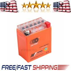 12v Ytx7l-bs Gel Battery Replacement For Go Cart Atv Scooter Quad Buggy Battery