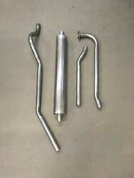 1948-51 Kaiser/frazer 6 Cylinder Complete Factory Correct Single Exhaust System