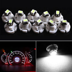 10x White T4 T4.2 Neo Wedge 1206 Cluster LED Car Instrument Dash Climate Bulbs