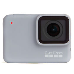 Gopro Hero7 White Waterproof Action Camera, Touch Screen,1440p Hd Video