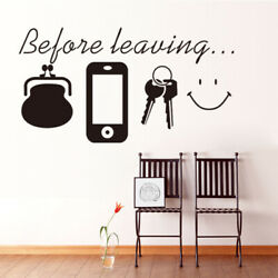 Fashionable New Black Wall Stickers Art Decal Mural Home Decor Living Room DIY