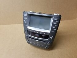 2006-2008 LEXUS IS250 IS350 Radio GPS Navigation Climate Control CD Player OEM