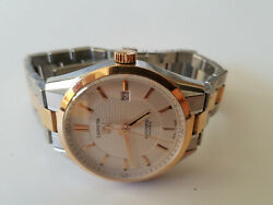 Tag Heuer Menand039s Two Toned Carrera Analog Swiss Automatic Watch W/extra Link.