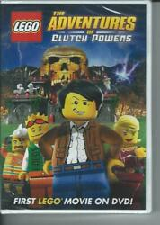 LEGO: The Adventures of Clutch Powers DVD 2010 $6.89