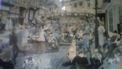 The Carousel  By Master Pieces . 1000 Piece By Susan Brabeau / 19 X 26