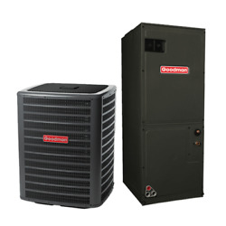 2 Ton 16 Seer Goodman 2-stage Air Conditioning System