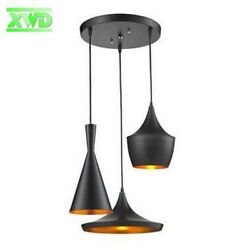 Black Beat Style Ceiling Pendant Light Lamp Shade Lampshade Chandelier Home Red