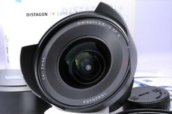 【Mint】Carl Zeiss Distagon T* 15mm F2.8 ZF.2 Lens for Nikon #No101