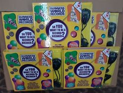 New5-guinness World Records So You Want To Be A Record Breaker 2005 W/ Watch