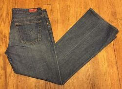 Adriano Goldschmied The Club Jeans Flare Bootcut Cotton Womens Size 31