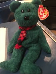 """Rare Beanie Baby """"wallace"""" The Teddy Bear Original And Retired year 1999"""