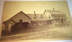 Rare Antique Rural American Hotel Circus Advertising Posters Cabinet Photo Us