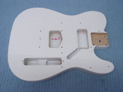 Fender Squier Tele Telecaster Body Olympic White Affinity Electric Guitar
