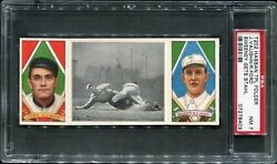 1912 T202 Hassan Sweeney Gets Stahl - Vaughn And Ford Psa 7 07278403