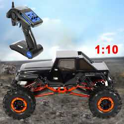 Electric RC 4WD Car Monster Truck Rock Climbing Off-Road 2.4GHz Remote Control