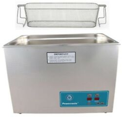 Crest Ultrasonic Cleaner-heat And Timer-perforated Basket