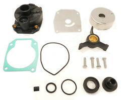Water Pump Rebuild Kit For Evinrude 0438592 438592 Includes Impeller And Grommet