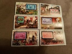 Collectible Stamps 1976 Americaand039s 200th Anniversary From Nation Of Burkina Faso