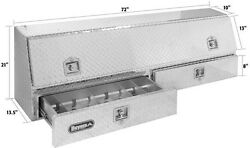 Buyers Aluminum Pro Commercial Topside Toolbox W/drawer Truck Tool Box 1705641