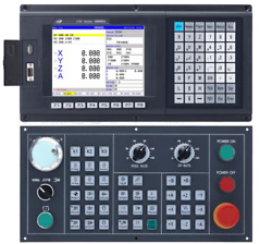 3 Axis Cnc Center Machine Controller ,support Absolute, G Code Control Atc Plc