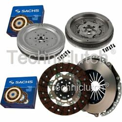 Sachs 2 Part Clutch Kit And Sachs Dmf For Audi A3 Hatchback 2.0 Tfsi